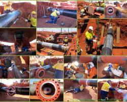 """Hot Tap"" Live Gas Pipeline Welding"